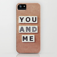 you and me iPhone & iPod Case by Beverly LeFevre
