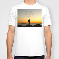 Try Not to Worry... T-shirt by RichCaspian