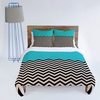 DENY Designs Bianca Green Follow Duvet Cover | www.hayneedle.com