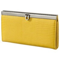 Target : Merona® Lizard Bar Clutch - Yellow : Image Zoom