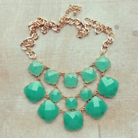 Pree Brulee - Beguiling Mint Green Necklace