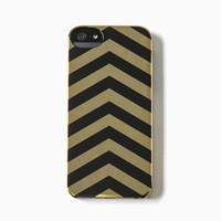 Incase - iPhone 5 Stripes Snap Case (Gold Chrome/Black Chevron)
