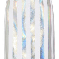 Jonathan Saunders | Issy holographic striped crepe pencil skirt | NET-A-PORTER.COM