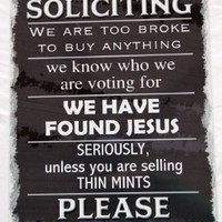 No Soliciting 8x12 Aluminum Sign:Amazon:Everything Else