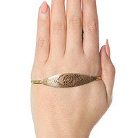 SunaharA The Evil Eye Hand Bracelet In Gold