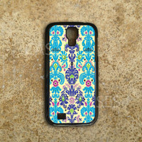 Galaxy S4 Cases - Custom Samsung Galaxy S4 Covers - Deisgner Damask Pattern - Top Accessories for Samsung S4 - Hard Protective Case