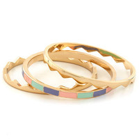 Take a Bite Out of Shine Bracelets | Mod Retro Vintage Bracelets | ModCloth.com