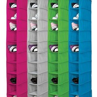Vibrant 10 Shelf Shoe Organizer Storage Closet Organizers College Supplies Space Save Hanger Organization Useful