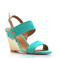 strappy-faux-wood-wedge APRICOT MINT - GoJane.com