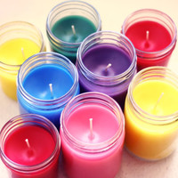 3-12 oz  Mason Jar Candles Package