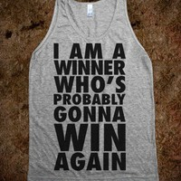 I Am A Winner Who's Probably Gonna Win Again - Kendrick Lamar Parody Tank
