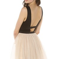 *MKL Collective The Twisted Ballerina Dress in Peach : Karmaloop.com - Global Concrete Culture