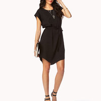 Textured Woven Sheath Dress