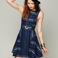 Free People FP New Romantics Painted Stripe Dress