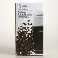 Capresso Black Cool Touch Coffee Grinder | World Market