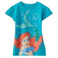 Disney Princess Ariel Tee - Girls 4-6x