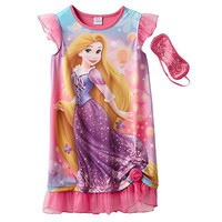 Disney Princess Rapunzel Nightgown - Girls