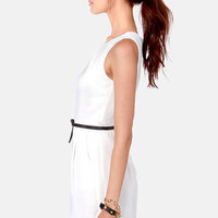 LULUS Exclusive The Good Life Black and White Dress