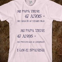 Spanish - Sassy - Skreened T-shirts, Organic Shirts, Hoodies, Kids Tees, Baby One-Pieces and Tote Bags
