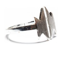 Brandy ♥ Melville |  Silver Flash Ring - Rings - Jewelry - Accessories