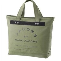 Marc Jacobs Small Canvas Jacobs Tote Army Green