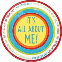 It's All About Me My Special Day Plate