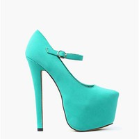 Sally Mary Janes - Sea Green
