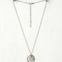 Free People Stone Target Necklace