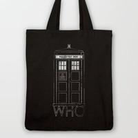 WHO Tote Bag by John Medbury (LAZY J Studios)