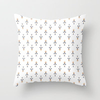 PP - Construction Throw Pillow by Lalaine Lim