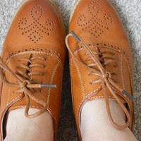 Tan Brogues from marionb29