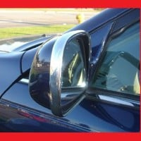 1990-1996 FORD RANGER CHROME SIDE MIRROR TRIM MOLDINS 2PC 1991 1992 1993 1994 1995 90 91 92 93 94 95 96