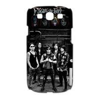 CTSLR Music & Band Series Protective Snap-on Hard Back Case Cover for Samsung Galaxy S3 I9300 - 1 Pack - Escape the Fate - 4