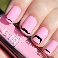 Mustache Nail Decals 36 Ct.