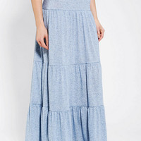 Urban Outfitters - Staring At Stars Tiered Knit Maxi Skirt