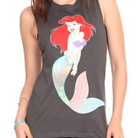 Disney The Little Mermaid Muscle Girls T-Shirt | Hot Topic