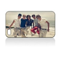 ONE Direction Hard Case Skin for Iphone 4 4s Iphone4 At&t Sprint Verizon Retail Packing.:Amazon:Everything Else