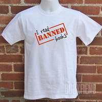 i read banned books tshirt by BookFiend on Etsy
