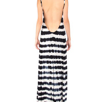 Low Back Tie Dye Maxi Dress - 2020AVE