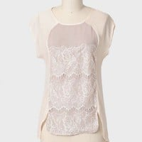 Dreamy Days Lace Accent Top at ShopRuche.com