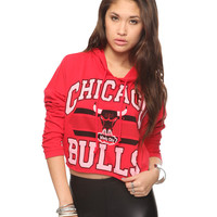 Chicago Bulls Cropped Hoodie