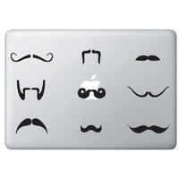 The Ultimate Mustache Pack for Macbook's