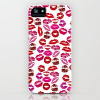 Lip Print iPhone & iPod Case by Electric Avenue