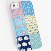 Whale Logo Accessories: Unique iPhone 5 Cases - Patchwork iPhone 5 Case