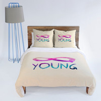 DENY Designs Home Accessories | Jacqueline Maldonado Forever Young 1 Duvet Cover