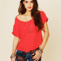 Free People Without Reason Tee at Free People Clothing Boutique