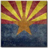 Art Detail: Flag of Arizona Distressed (6042)