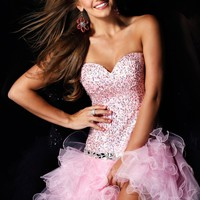 Sherri Hill 2541 Pink Cocktail Dress