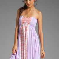 Tiare Hawaii Seaside Maxi Dress in Violet/Peach from REVOLVEclothing.com