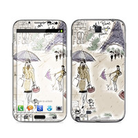 Samsung Galaxy Note II Skin - Ah Paris by Izak